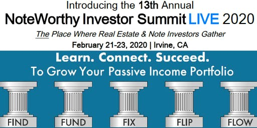 13th Annual NoteWorthy Investor Summit 2020