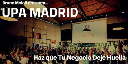 UPA Madrid & Bruno Moioli
