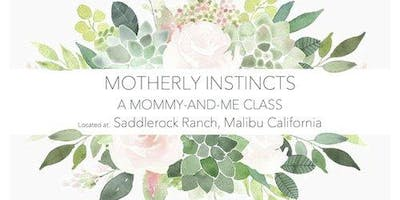 Mommy and Me - Infants at Saddlerock Ranch in Malibu