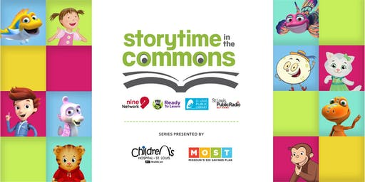 Storytime in the Commons   Water Waves and Fitness   July 2019