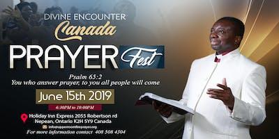 DIVINE ENCOUNTER-PRAYERFEST CANADA