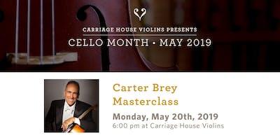 Carter Brey Cello Masterclass