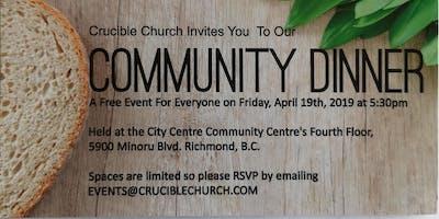 Free Good Friday Community Dinner