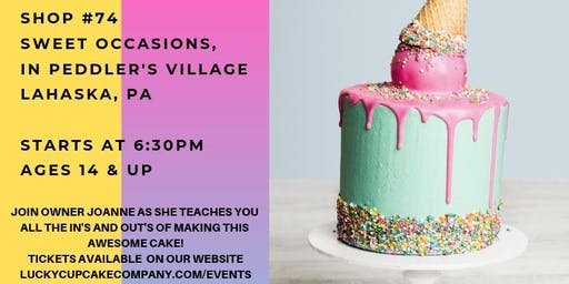 Summer Drip Cake Workshop