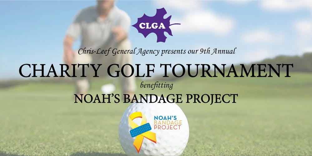 9th Annual Charity Golf Tournament Benefitting Noah's Bandage