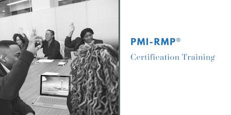 PMI-RMP Classroom Training in Janesville, WI tickets