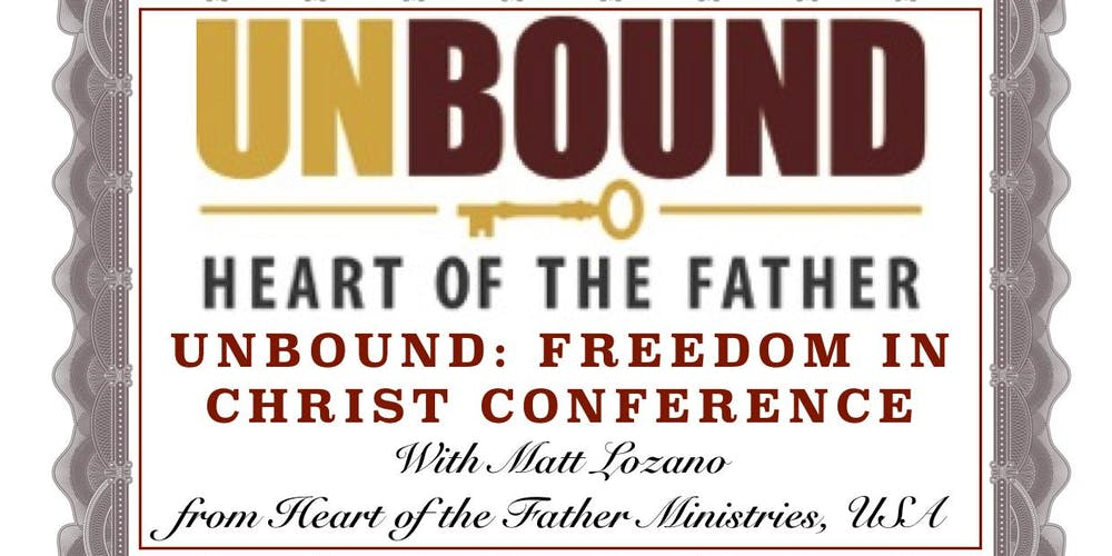 2 Day UNBOUND: FREEDOM IN CHRIST CONFERENCE - Sheffield