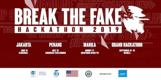 Break the Fake Hackathon 2019 - Manila