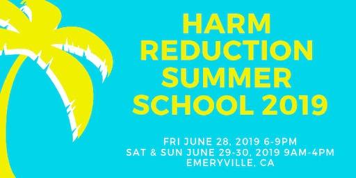Harm Reduction Summer School 2019
