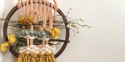 Make Your Own Woven Floral Wall Hanging w/ Chrysteen Borja of Waverly Knots