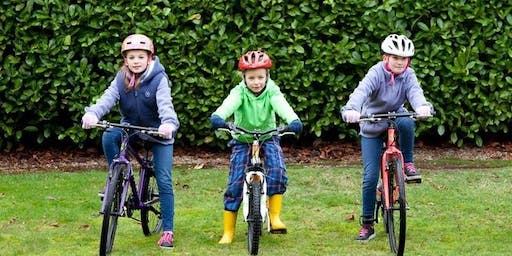 Learn to Ride a Bicycle event at Keble School