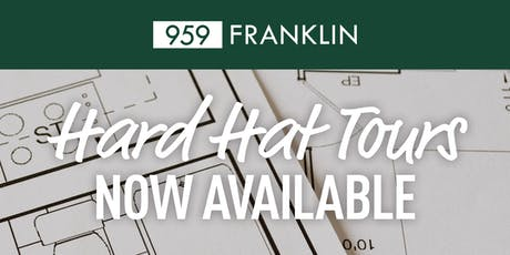 959 Franklin Hard Hat Tours  tickets