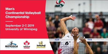 2019 Men's Continental Championship - Full Tournament Pass tickets