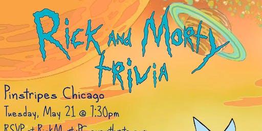 Rick & Morty Trivia at Pinstripes Chicago