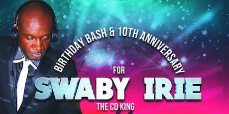 Swaby Irie's Birthday Bash & Keats 20th Reunion tickets