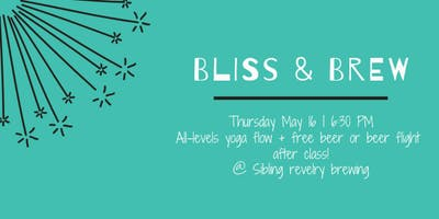Bliss & Brew: May 16