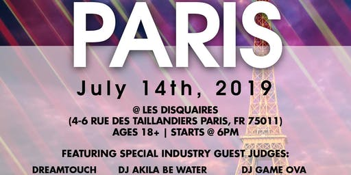 Coast 2 Coast LIVE Artist Showcase Paris, France - $50K Grand Prize