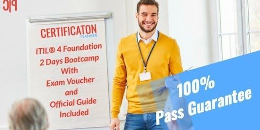 ITIL 4 Foundation 2 Days Classroom in Regina