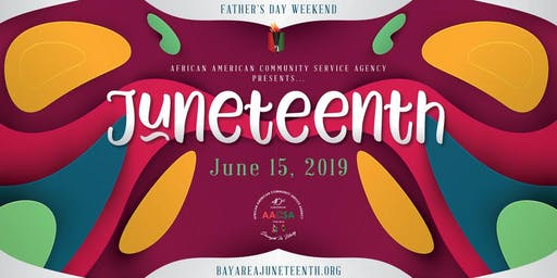 2019 San Jose Juneteenth in the Park Festival