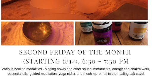 Friday Healing Circles in Salt Cave with Tracy Hart