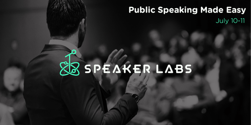 Public Speaking Made Easy - July 2019