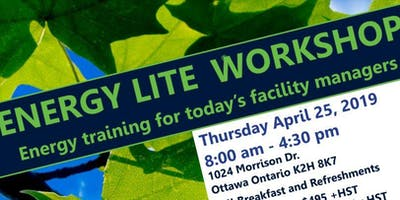 ENERGY LITE Workshop: Energy training for today\