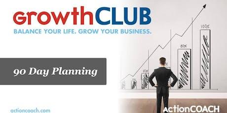 Q3 GrowthCLUB - 90-Day Planning Workshop tickets