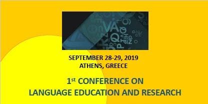 1st International Conference on Language Education and Research