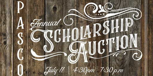 PASCO's 2019 Annual Scholarship Auction