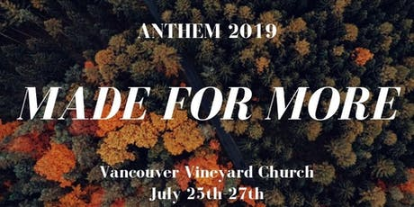 ANTHEM NW 2019 tickets