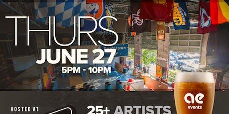 Art & Beer Night Market Denver! tickets
