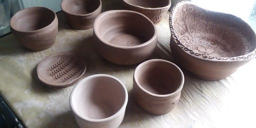 Muddy Mondays! - Open Pottery Studio time