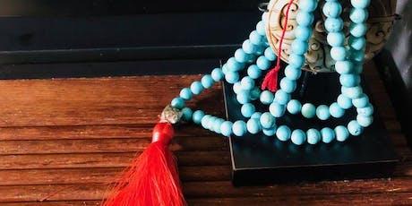 Make Your Own Gemstone Mala Workshop - DIY Jewellery Class. tickets