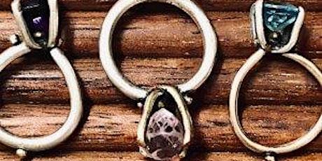 Rockstar Rocks Stonesetting - DIY Genuine Gem Stone Set Jewellery Ring Class tickets
