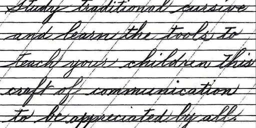 American Cursive Handwriting: 3 pack of 1 hour lessons