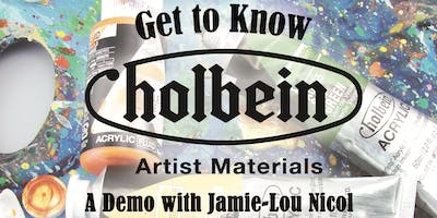 Getting to Know Holbein Artist Materials with Jamie-Lou Nicol