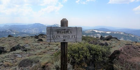 Mt. Lola and Cold Stream Meadows Docent Led Hike - 2019 tickets
