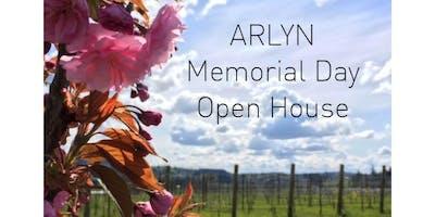 Arlyn Vineyard Memorial Day Weekend Open House - Saturday 5/25