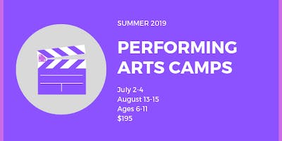 Summer Performing Arts Camp - August Session