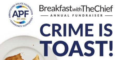 Crime is Toast - Breakfast with the Chief  tickets