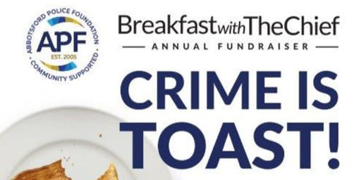 Crime is Toast - Breakfast with the Chief