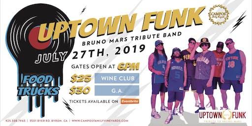 Uptown Funk - Bruno Mars Tribute Band