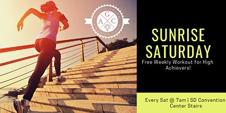 Sunrise Saturday: Community work out! tickets