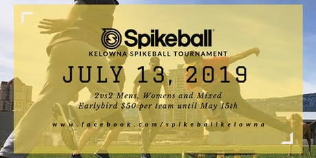 Kelowna Spikeball Tournament tickets