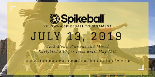 Kelowna Spikeball Tournament