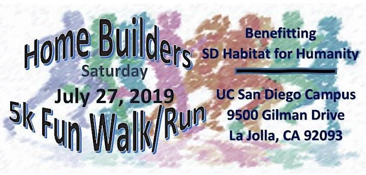 North San Diego County Alumnae Chapter, Homebuilders 5k Fun Run/Walk. image