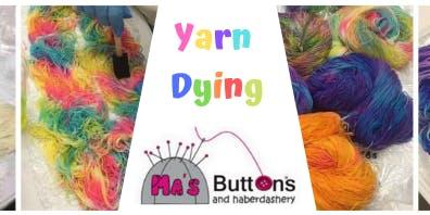 Yarn Dying Workshop