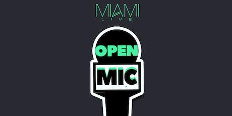 Miami LIVE Open Mic 6/30/19 - DJ Killa K tickets