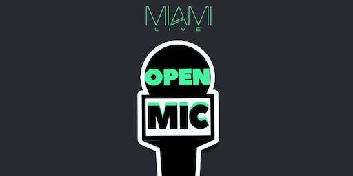 Miami LIVE Open Mic 6/30/19 - DJ Killa K