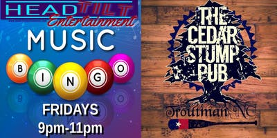 Music Bingo at The Cedar Stump Pub - Troutman, NC